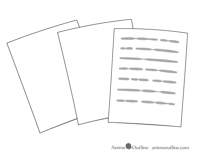 Pages & text drawing